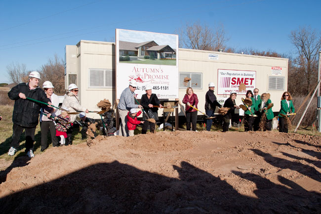 Chamber of Commerce groundbreaking; Green Bay Area Assisted Living, Autumn's Promise News